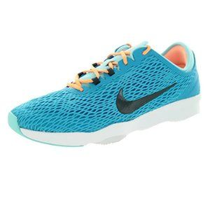 Nike Women's  Zoom Fit Blue Lagoon/White Running Shoes Sneakers Size 9